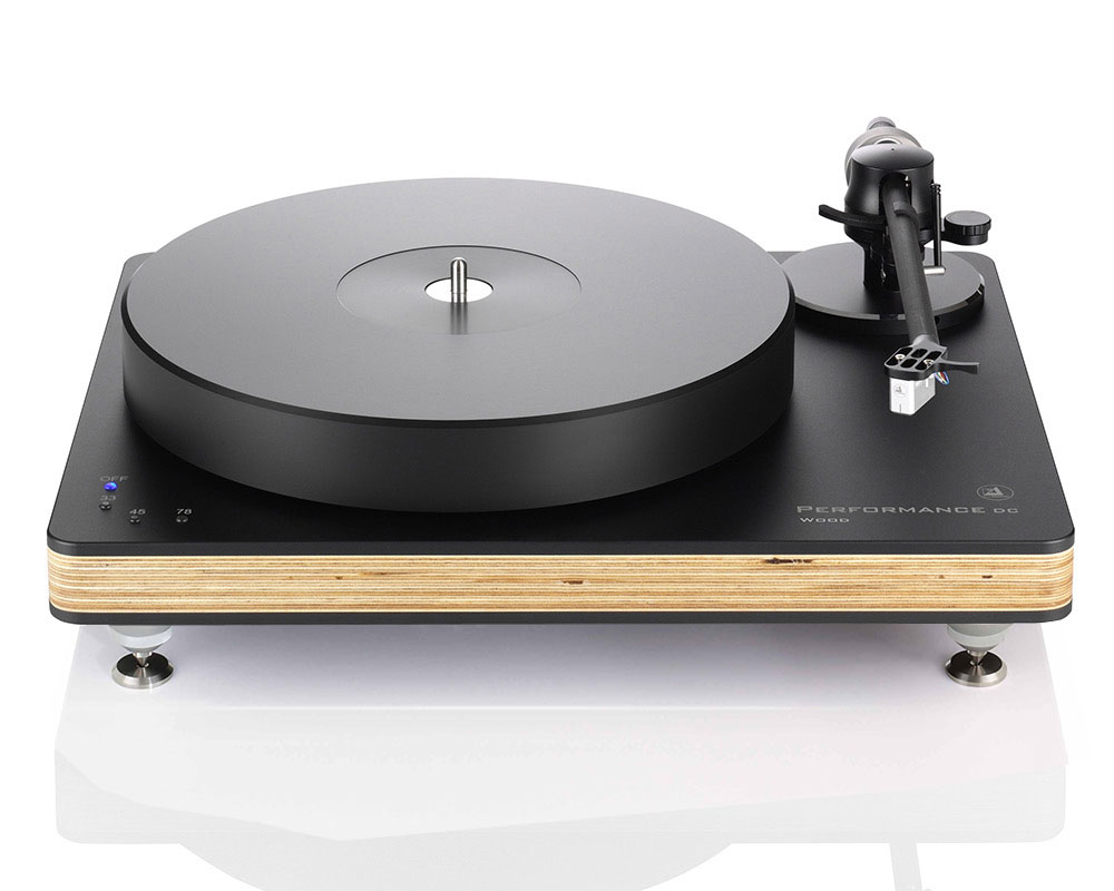 Performance DC Wood Black/Natural, Tracer tonearm, Essence MC cartridge