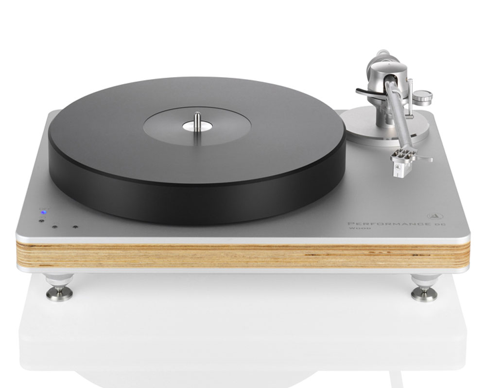 Performance DC Wood Silver/Natural, Tracer tonearm, Essence MC cartridge